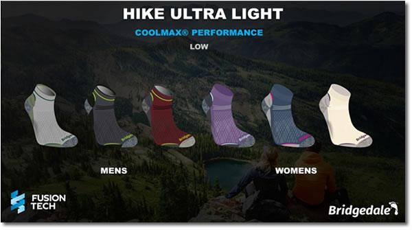 Bridgedale Hike Ultra Light low ankle